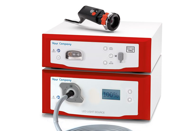 LED 300 endoscopy lightsource Private Label